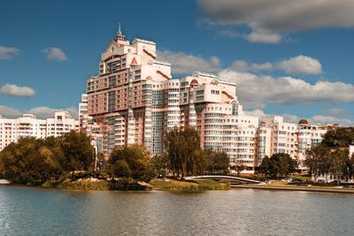 Урбанизм Минск город столица Беларусь