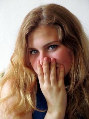 *** портрет девушка кокетство блондинка