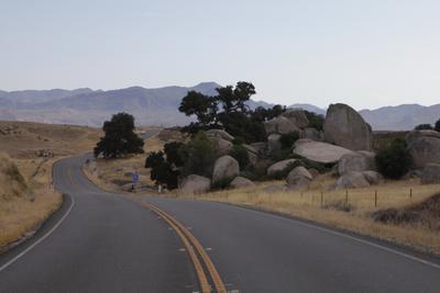На север Дорога Камни Даль