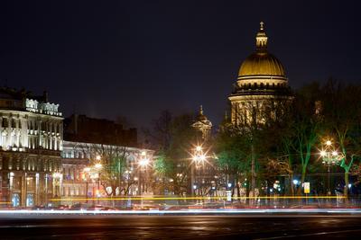 Ночной город...
