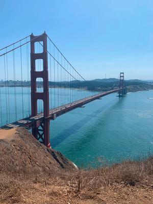 Мост Золотые ворота сан франциско калифорния золотые ворота