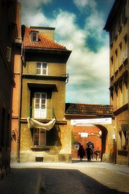 Все те же переулки Старого города. Варшава. варшава, путешествие, старый город, улочки
