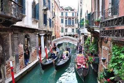 На канале. Венеция Канал
