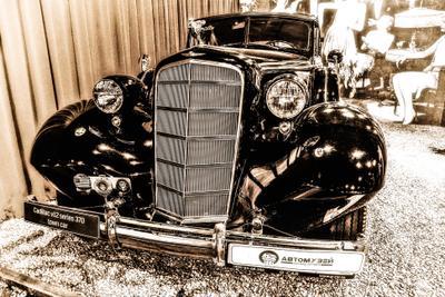 Cadillac машина авто ретро музей мотор