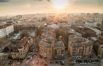Любимый Ростов ростов ростов-на-дону город архитектура вечер солнце закат весна дома здания улицы