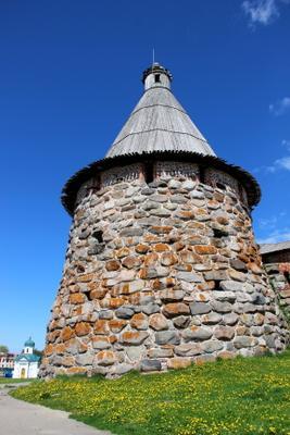 Прядильная башня соловки