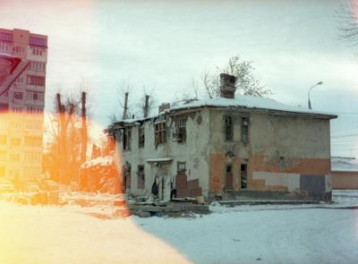 Посторонним В самара город зима дом многоэтажка окна небо атмосфера кодак 35мм пленка фотонапленку снятонапленку фото сниок кадр
