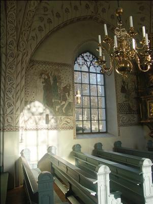 музыка света 2 окна фрески блики свет