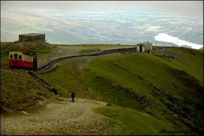 Mount Snowdon Snowdonia, Snowdon, Wales, Уэльс