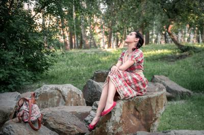 Маша Девушка портрет естественный свет