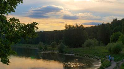 ***Летом к вечерку... лето прогулка