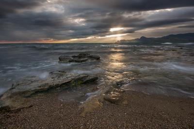 Весенним вечером! Крым Новый Свет Фотопленер
