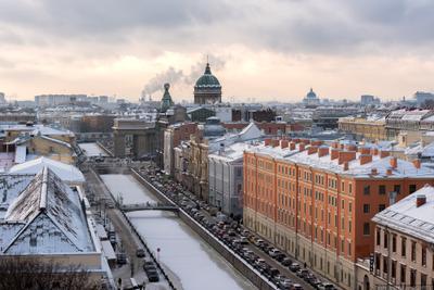 Морозное утро спб санкт-петербург пейзаж