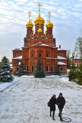 Черниговский скит Сергиев Посад Черниговский скит монастырь храм