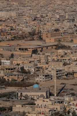 Тадмор архитектура город сирия пальмира война мечеть