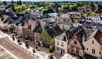 Городок город путешествия Франция