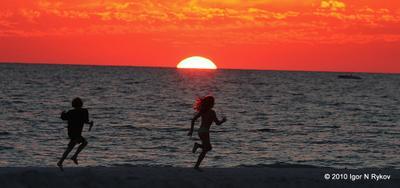из детской жизни Florida, St Pete Beach
