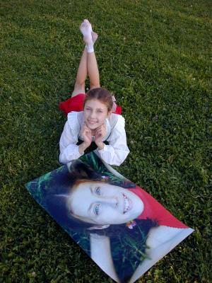 Портрет на траве