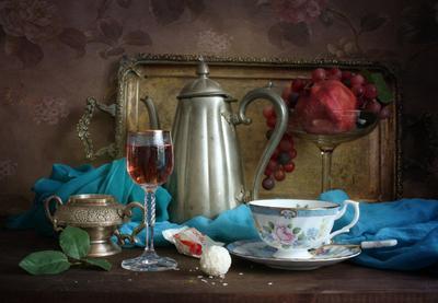 С розовым вином