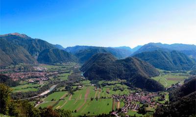 Словенияя панорама