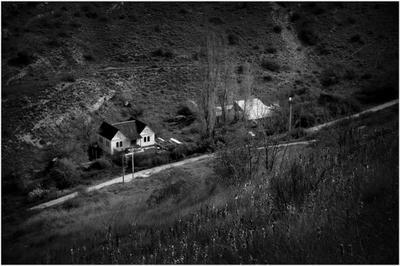 Балаклавская тропа путешествия чб пейзаж