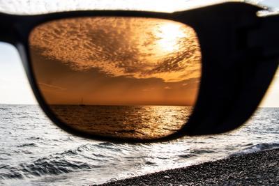 Взгляд через Закат Черное море