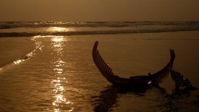 дары цивилизации океан мусор Индия