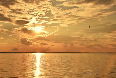 Мечты у Плещеева озера Лето мечты закат озеро Плещеево красиво золото