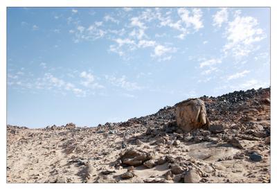 Пустыня Камни песок