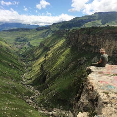 Наедине с бесконечностью ВодопадТобот Природа Пейзаж Дагестан
