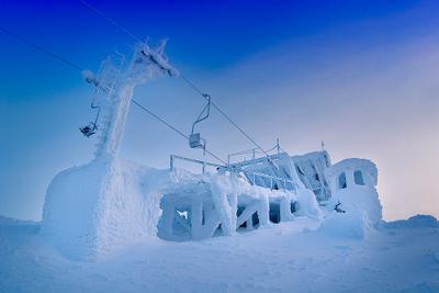 Чудеса полярной зимы