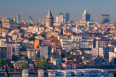 Прекрасный вид. Галата.  Spectacular view. Galata Галата Стамбул Турция Galata Istanbul Turkey