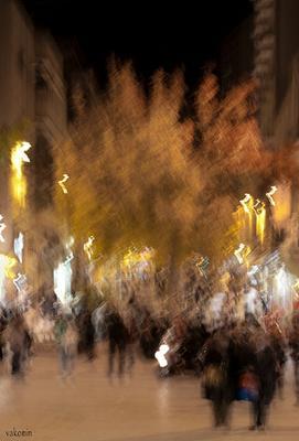 ..и вечер желтый струился тихо на бульвар вечер бульвар желтый Иерусалим время течение vakomin