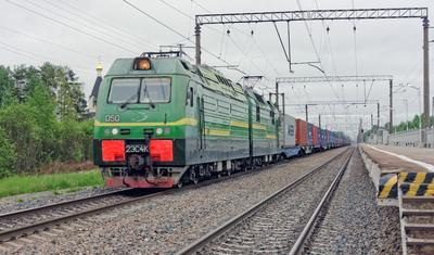 2ЭС4К-050 СПБ Апраксин поезд электровоз 2ЭС4К-050