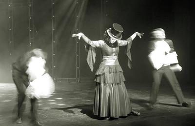Old style. Cabaret