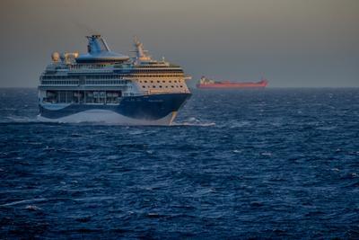 Marella Discovery в Северном море (2) Туризм отдых круиз Северное море Норвегия
