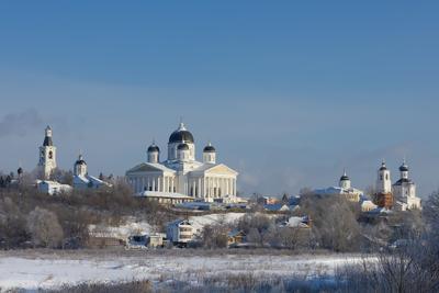 Воскресенский собор в Арзамасе храм собор Арзамас зима
