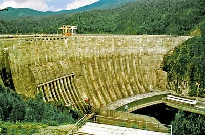 Саяно-Шушенская ГЭС 1999 год