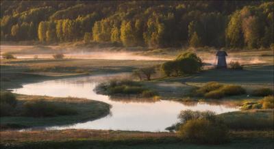 Майским утром на Сороти .. Псковская область река сороть пушкинские горы