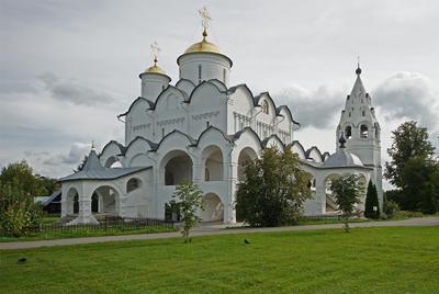 Покровский собор (личному троллю посвящается....) Суздаль монастырь Покров Покровский архитектура