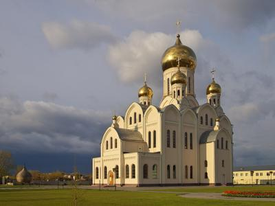 Троице-Владимирский собор Новосибирск весна собор