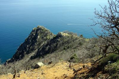 Мыс Монастырский Мыс Монастырский Медведь-гора Крым скала Медвежье Ухо