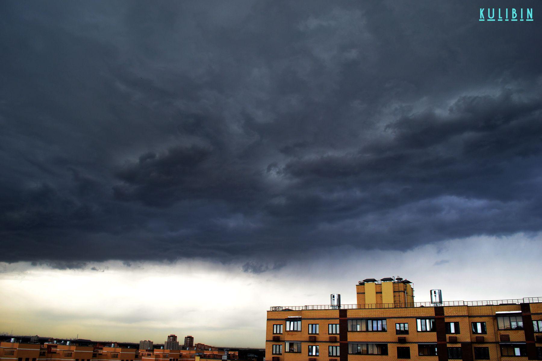 *** облака тучи гроза природа небо