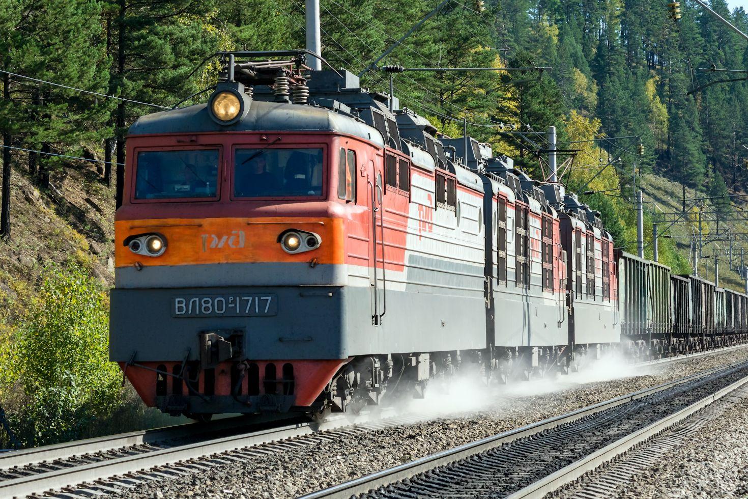 ВЛ80Р-1717 railway железная дорога locomotive локомотив электровоз поезд train Russia Siberia Irkutsk Россия Сибирь Иркутск споттинг spotting