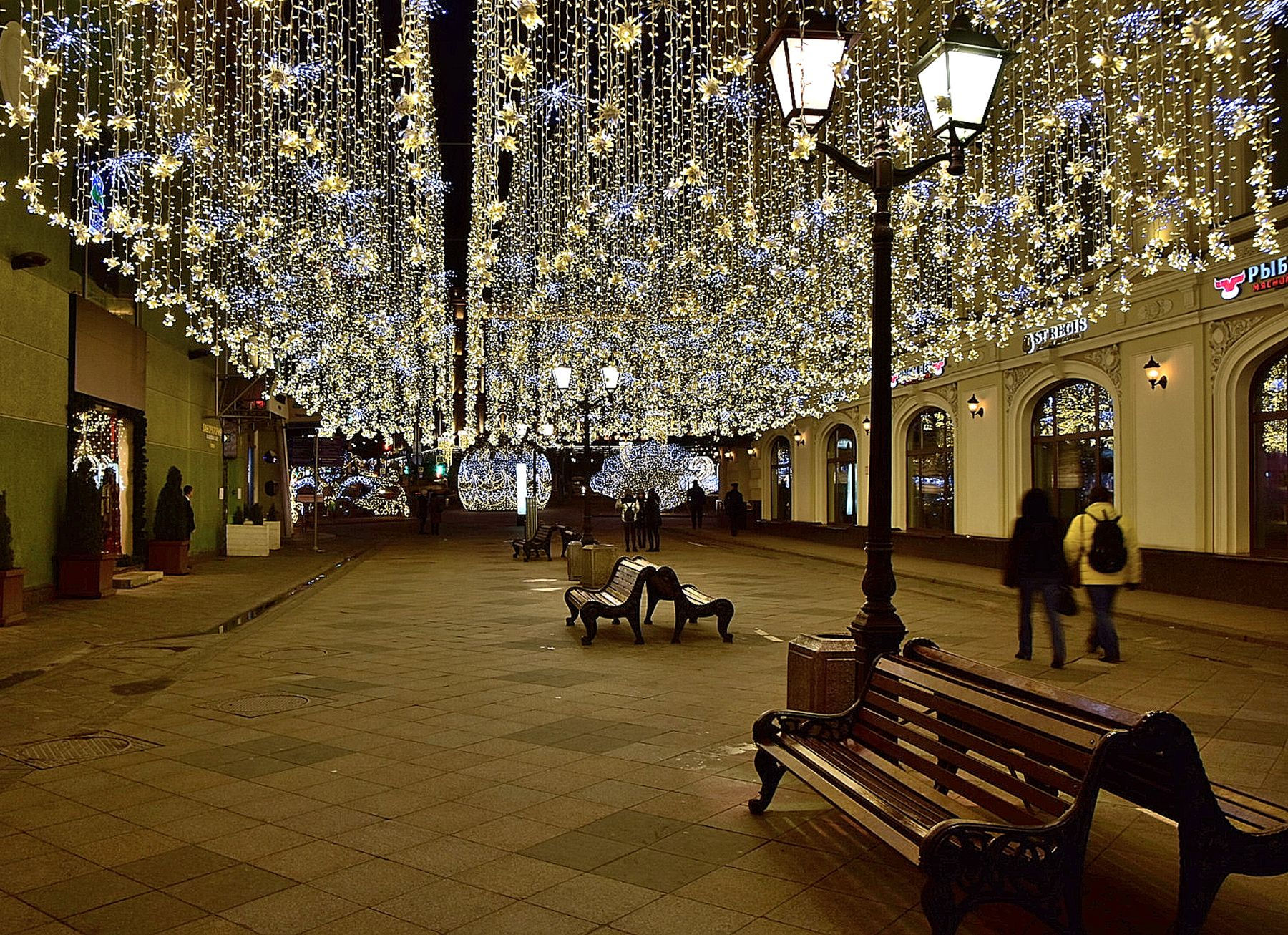 Рождественское утро утро праздник москва город