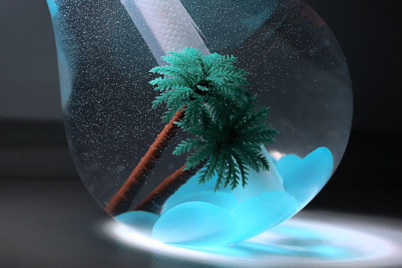 *** Пальма вода увлажнитель