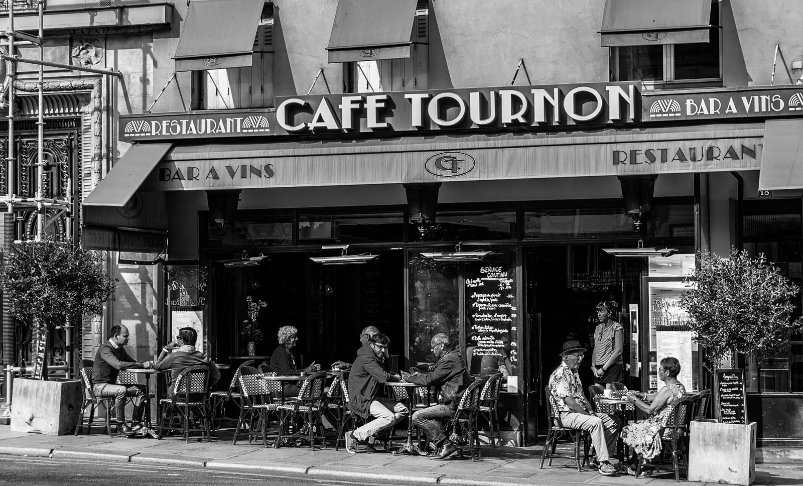 Парижские кафе.