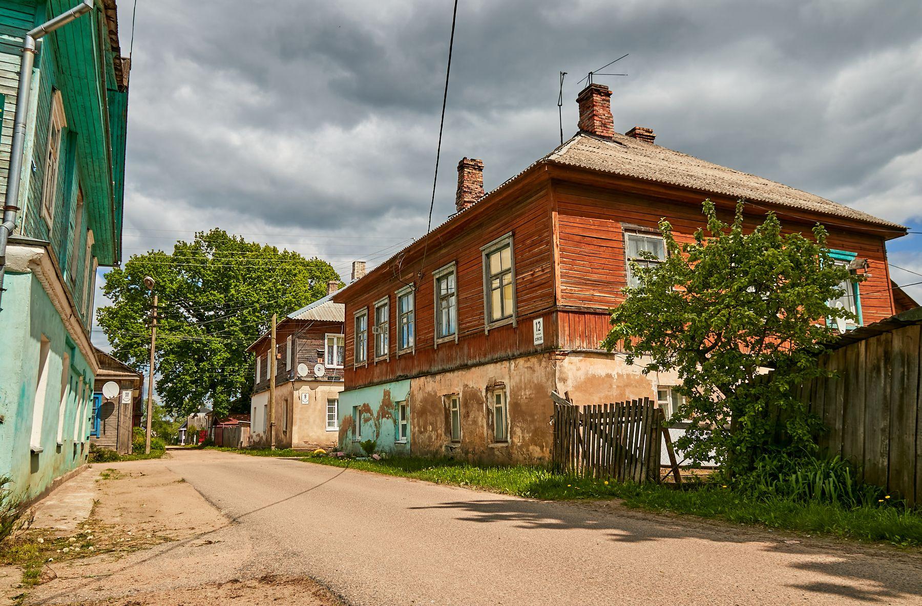 Старые улочки Себежа... себеж город путешествия улицы