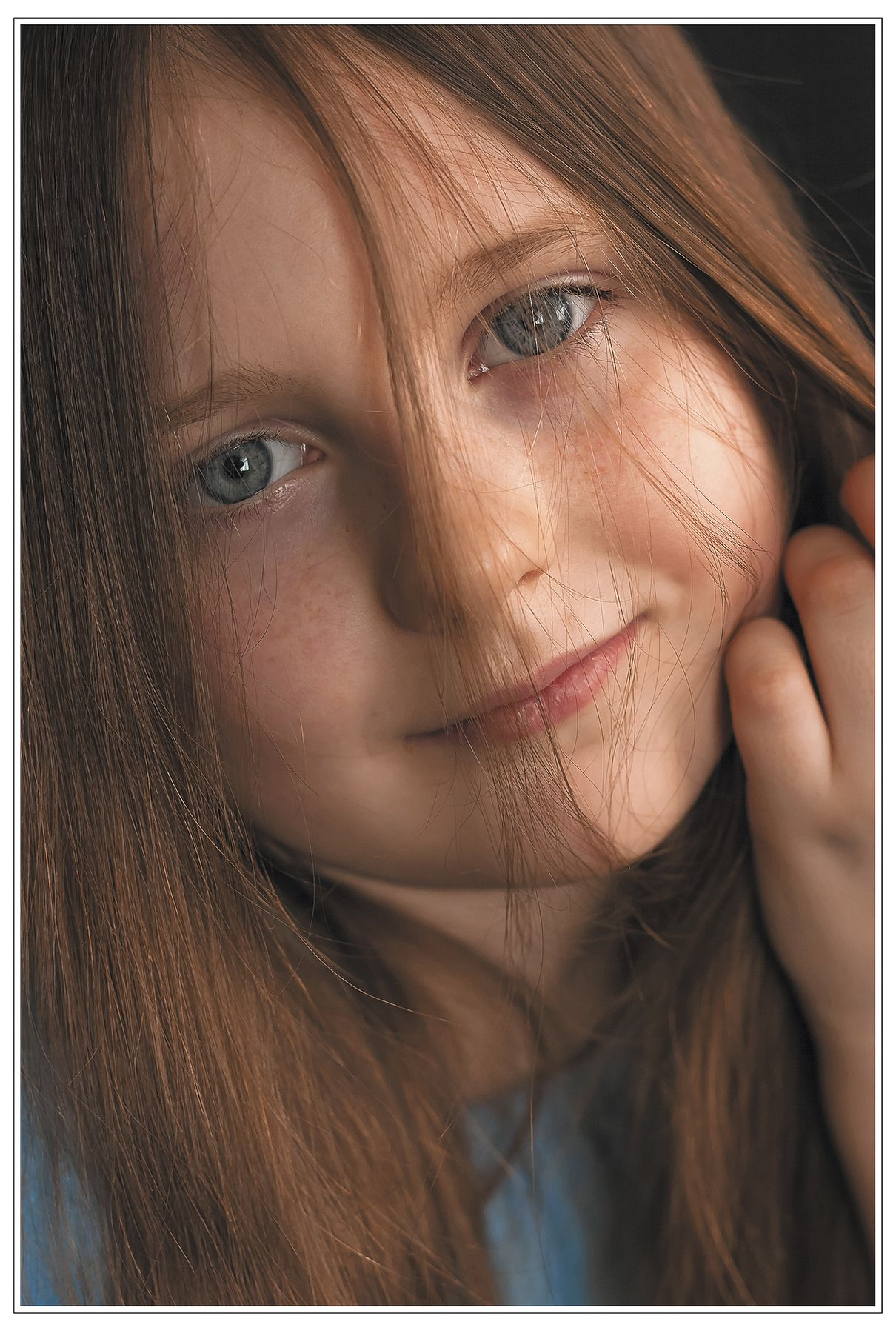***Варвара Портрет девочки детство взгляд