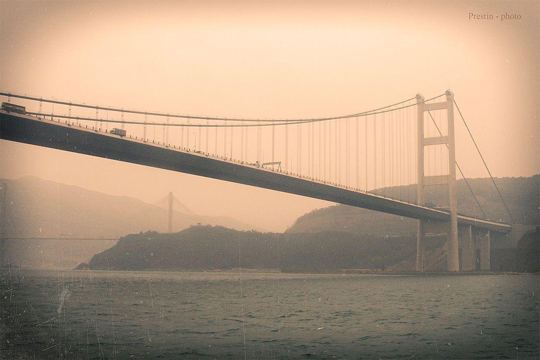 Туманный не Альбион... гонконг азия море мосты горы